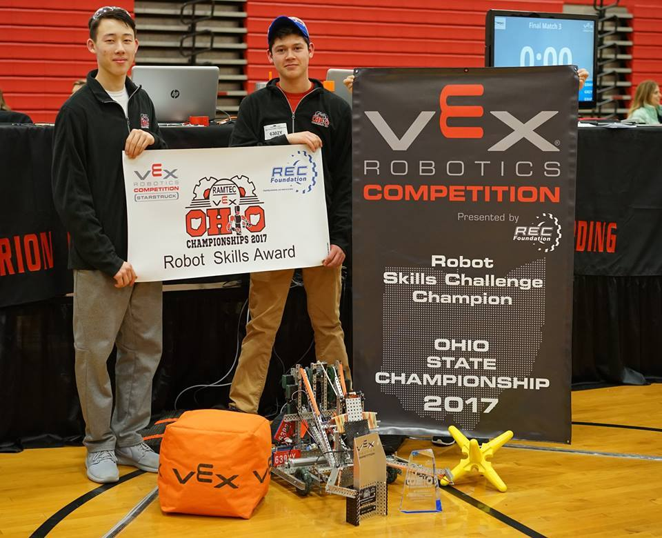 VEX Robotics Competition Winners