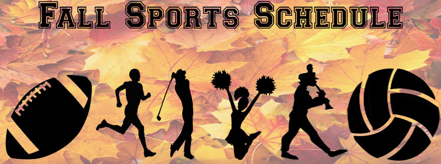 Fall Sports Schedule Released